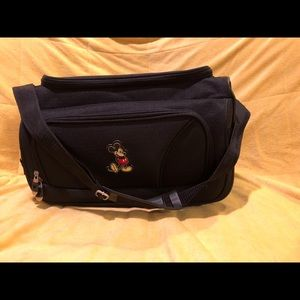 Mickey Mouse carry on bag.